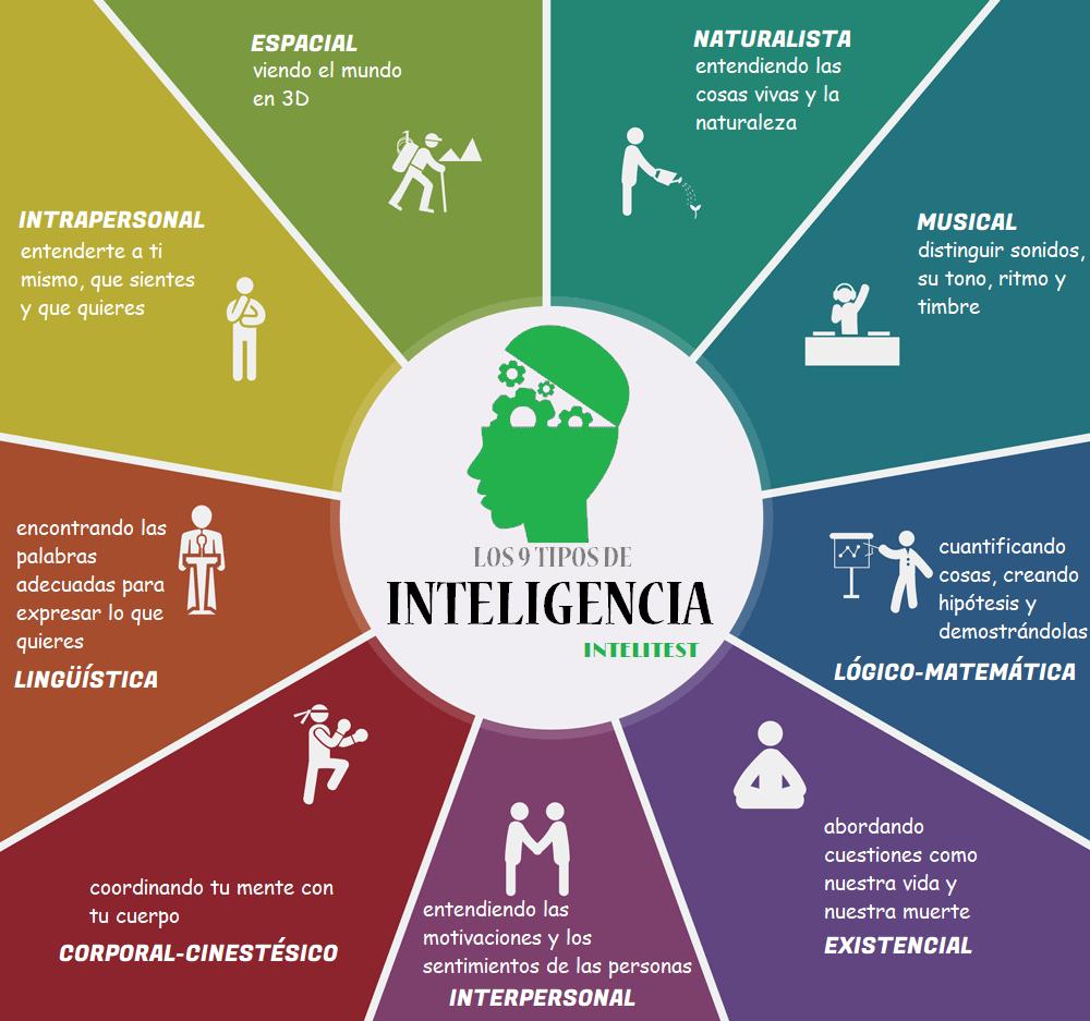 9 tipos de inteligencia